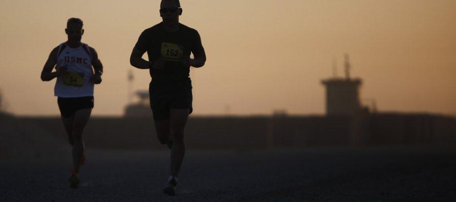 biegacze - kolana